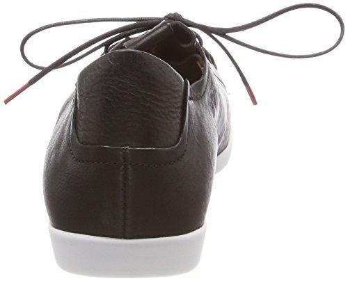 Think Anni_282050, Chaussures Femme Brouge Noir (sz / Kombi 09)