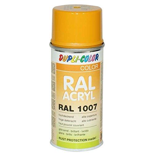 Duplicolor 626593 pintura acrílica, color amarillo narciso brillante, 150 ml