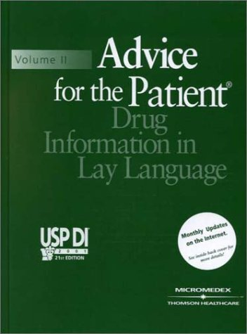 usp-di-advice-for-the-patient-usp-di-v2-advice-for-the-patient-by-medical-economics-staff-2000-09-02