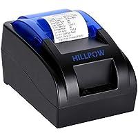 HILLPOW-Impresora Recibos 58mm ESC POS 90mm/segundo Windows Linux Conector USB
