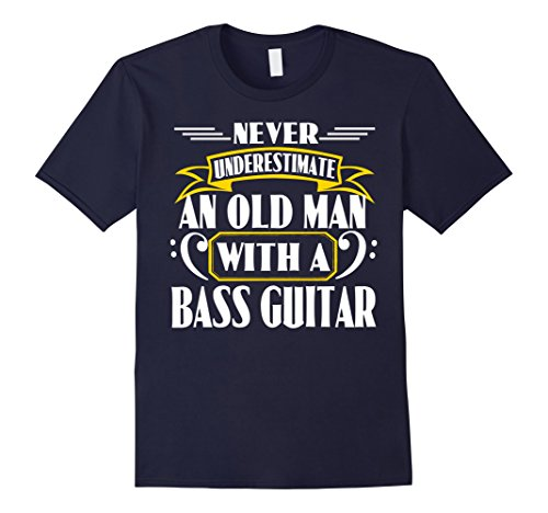 never-underetimate-an-old-man-bass-guitar-t-shirt-herren-grosse-2xl-navy