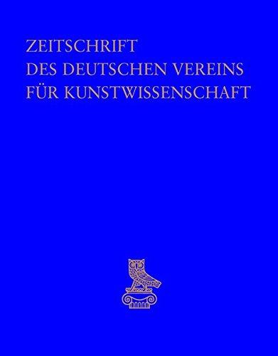 Zeitschrift des Deutschen Vereins für Kunstwissenschaft: Opus. Festschrift für Rainer Kahsnitz