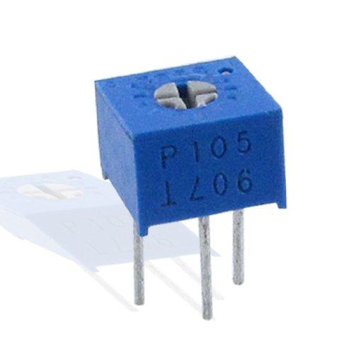 sourcingmap® 5x 1m Ohm 500V 1/2W Dip Trimmer Pot variable Widerstände