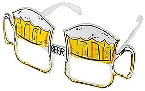 Amscan-998397-Gafas Jarra de cerveza fiesta de la cerveza