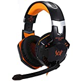 Gaming Headset für PS4 Xbox One Gamer, 3,5 mm Gamer, Headset Mic LED, Stereo, Surround für PS3 PS4 Xbox One 360
