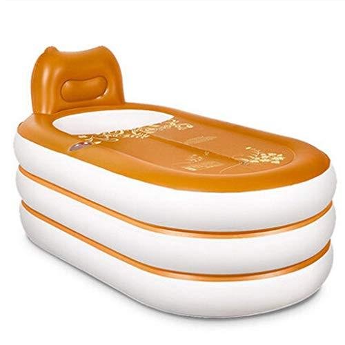 Cxmm Aufblasbare Badewanne für Erwachsene Aufblasbare Badewanne Verdickungsmaterial Dauer