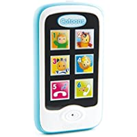 Smoby - Cotoons Smartphone - sons et Lumières - Fonctions Record et Playback