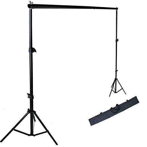 PMS 3m x 2.8m Kit Supporto Fondale Background Portatile Supporto Stativo da Studio per Fondali Video e Fotografici; Cavalletti Treppiede per