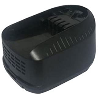 Amsahr BOS18(C) 4.0 A 18 V Replacement Power Tools Battery for Bosch PSR 18 LI-2/PSB 18 LI-2/PST 18 LI/LAMPE PML 18 LI/ART 26 LI - Black