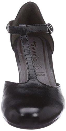 Tamaris24420 - Scarpe con Tacco Donna Nero (Nero (Black 001))