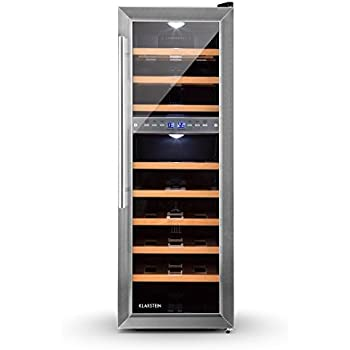 CASO WineComfort 38 Design Weinkühlschrank für bis zu 38 Flaschen ...