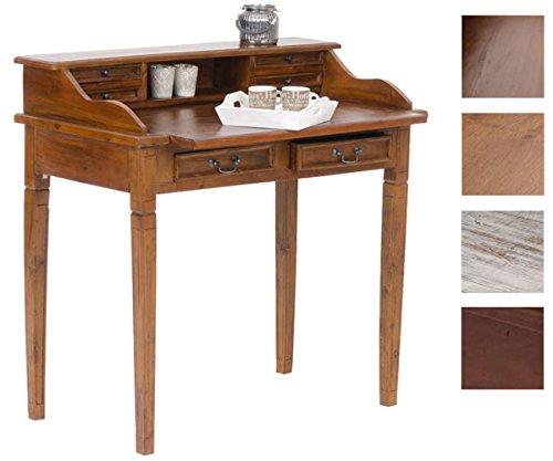 CLP Scrittoio scrivania ALDEN, scrittoio estraibile in legno di ...