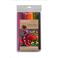 Lia Griffith - Papel de crepé extrafino, 10 unidades, varios colores