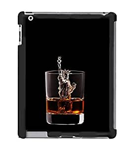 Vizagbeats Liberty In Whisky Back Case Cover For Apple Ipad 3