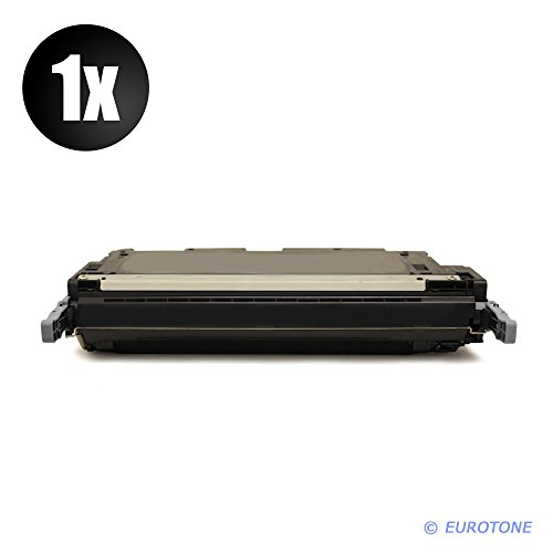 Alternativer Eurotone Toner BLACK compatibile remanufactured per HP Color LaserJet 3600 N DN 3600N 3600DN - XXL Alternative a Q6470A nero