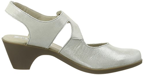 Mephisto Maya Liz 2305 Light Grey, Escarpins femme gris (LIGHT GREY)