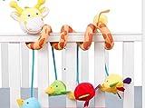 SUxian Bett-hängende Rassel, Nette Giraffe-Baby-Musik-Drehbank-hängendes Bett um Pram-Spielwaren (Mehrfarben)