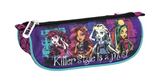 Monster High – Portatodo triangular, 20 x 9 x 8 cm (Safta 811344224)