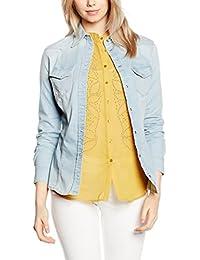 it Amazon E Guess Top T Abbigliamento Shirt Bluse Camicie Bluse Prqdn1r