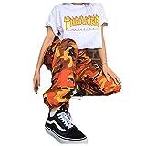 Poopy Pantaloni cargo mimetici sportivi da donna Jeans a pantalone casual  con. f21a7cef8d8e