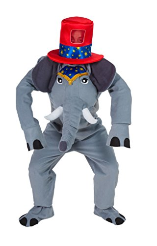 �m mit Hut - Lustiges Elephanten Kostüm für Erwachsene ()