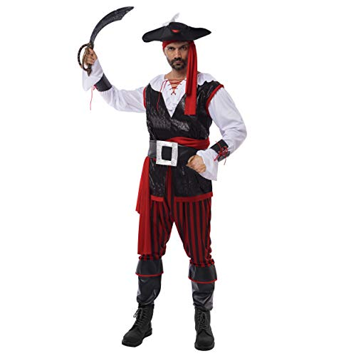 Piraten Kostüm Erwachsenen Für Cutthroat - Spooktacular Creations Herren Piratenkostüm
