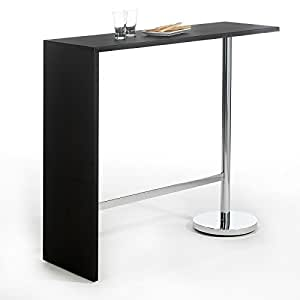 Table haute de bar ricardo mange debout comptoir pi tement - Amazon table de bar ...
