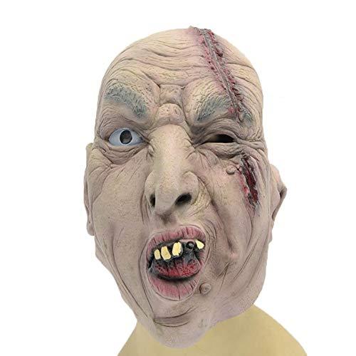 Halloween Ghost Festival Nacht Maske Gruselige Narben Großen Mund Latex Maske Party Ball Film Requisiten (Filme Für Halloween-nacht)
