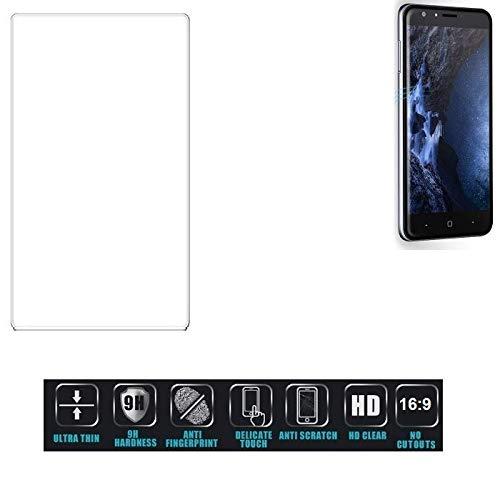 Für Doogee Y6 4G Schutzglas Glas Schutzfolie Glasfolie Bildschirmschutzfolie Bildschirmschutz Hartglas Tempered Glass Verb&glas für Doogee Y6 4G 16:9 Format, bedeckt nicht die Seitenbereiche - K-S-