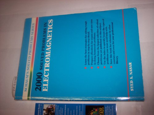 Free 2000 Solved Problems In Electromagnetics Schaum S Solved