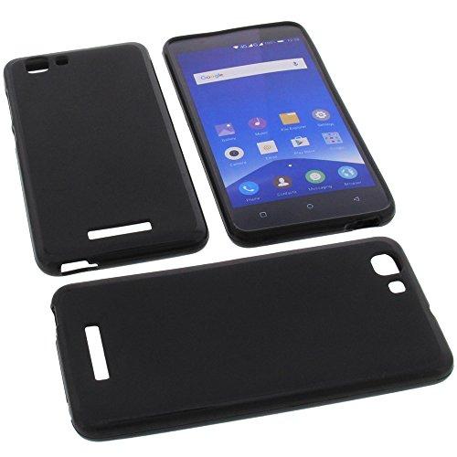 Tasche für Mobistel Cynus F10 Gummi TPU Schutz Handytasche schwarz