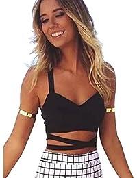 Tops Blusas Camisetas es Ropa Lencería Mujer Y Vestidos Amazon pHXq0
