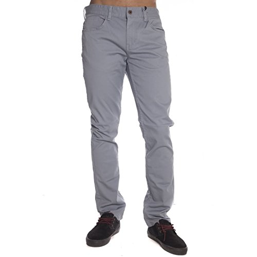 Globe Goodstock-Jeans da uomo Denim, Uomo, Goodstock, Blue - Dusty Blue, FR : 43-46 (Taille Fabricant : 33)