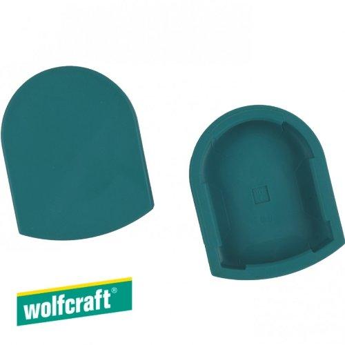 Schutzkappen wolfcraft 42x12x53mm Kunststoffkappen Kunststoffschutzkappen