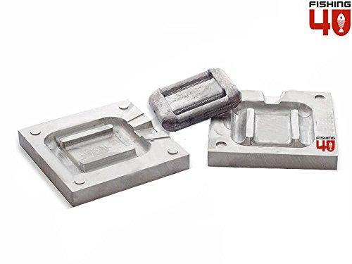 Buceo plomo peso molde 1000gr/molde de plomo de pesca Sinker/CNC mec