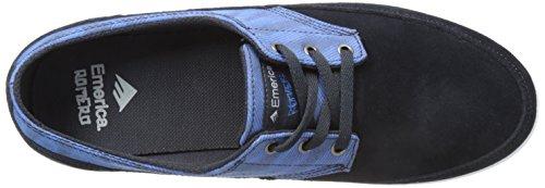 Emerica  The Troubadour Low,  Scarpe da skateboard uomo Blu (Bleu (Navy/Blue 421))