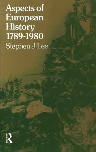 Aspects of European History 1789-1980 (University Paperbacks)