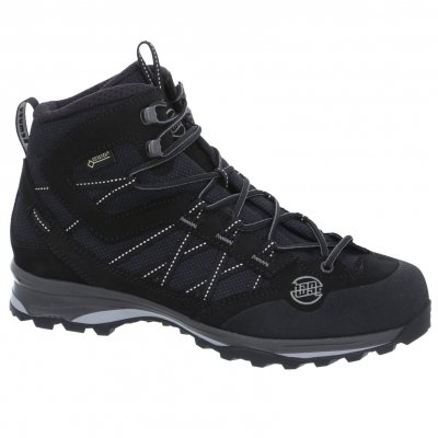 Hanwag Belorado II Mid Bunion Lady GTX Größe UK 5,5 Black/Black Gtx Light Hiking Boot