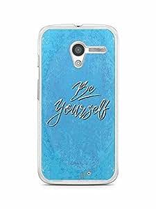 YuBingo Be Yourself Designer Mobile Case Back Cover for Motorola X