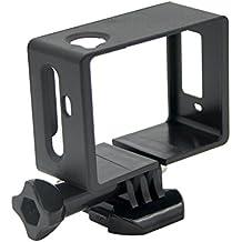 SJCam SJ-FRAME-5000 Soporte de cámara original SJCAM compatible con modelos de la serie SJCAM SJ5000, color negro