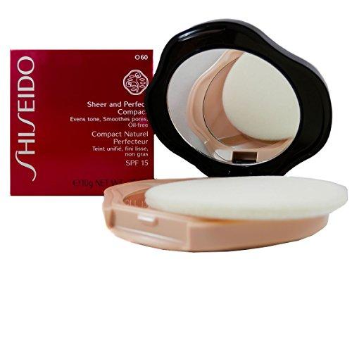 Shiseido Sheer and Perfect Compact fondotinta compatto in polvere n. O60