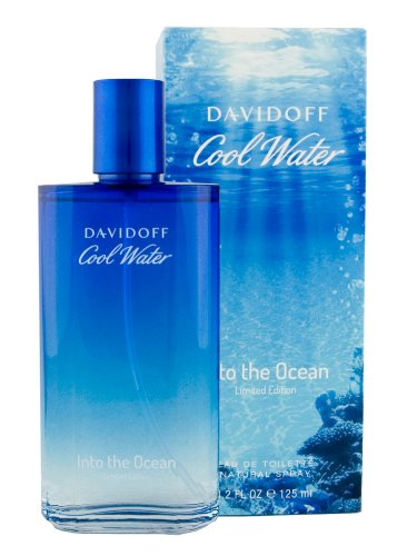 Davidoff Cool Water into the Ocean, homme / men, Eau de Toilette, Vaporisateur / Spray 125 ml, Blue Summer Edition, 1er Pack (1 x 125 ml) - Cool Water Deodorant Eau De Toilette