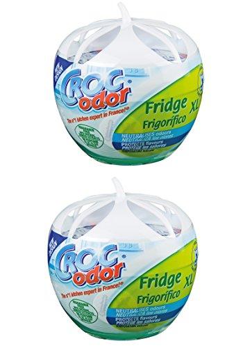 2-x-croc-odor-fridge-xl-deodoriser-neutralise-odour-eliminator-freshener