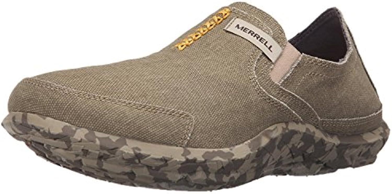 Merrell Men's Slipper Fashion Sneaker, Sand, 40 D(M) EU/6.5 D(M) UK