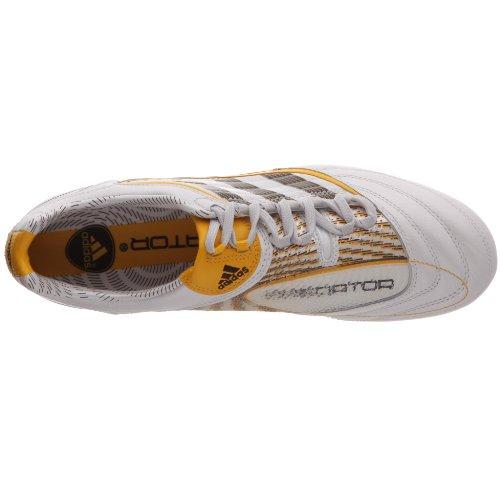 Adidas X P Absolion_x Sg O, Unisex-Erwachsene Fußballschuhe Weiß (blanc Prédator/brun Foncé/jaune Pur)