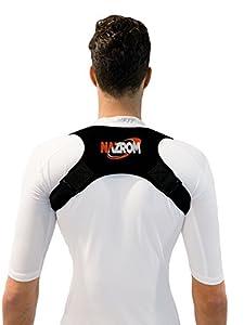 Adjustable Posture Corrector - Comfortable Shoulder & Back Brace for Slouching - Discreet Design For Men & Women - For Upper Back Clavicle Support - Suitable For Running & Sports
