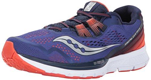 Saucony Men's Zealot ISO 3 Footwear Blue in Size 42
