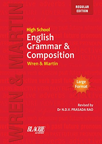 High school english grammar and composition book regular edition high school english grammar and composition book regular edition by wren martin fandeluxe Images