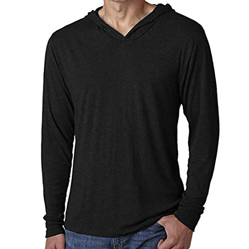 CICIYONER Tops für Männer, Männer Beiläufig Solide Kapuzenpullover Lange Ärmel Oberteile Bluse Sweatshirt