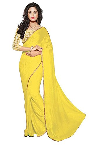 Sarees (Floral trendz chiffon saree for women with lace border and embroidered blouse...)  available at amazon for Rs.249